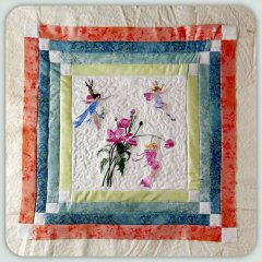 BFC0808 Block 10 of 12 Fairy Land Quilt - The Flower Fairies