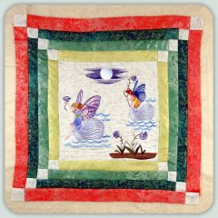 BFC0814 Block 11 of 12 Fairy Land Quilt - The Fairy Race