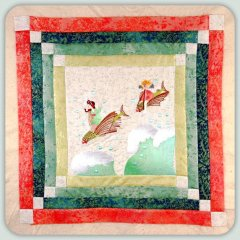 BFC0815 Block 12 of 12 Fairy Land Quilt - The Sea Fairies