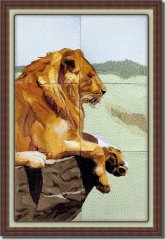 BFC0820 Lion Series-Lion-The Proud King