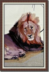 BFC0825 Lion Series-Lion-Resting in the Shade
