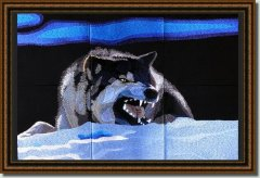BFC0982 Window-Blue Wolf