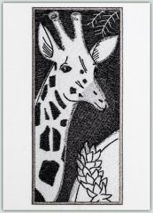 SA Architectural Etchings - Giraffe