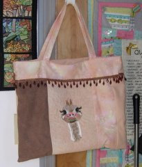 Tutorial - An Easy to make Tote Bag with Embroidery