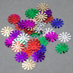 Mixed Colored Spokes