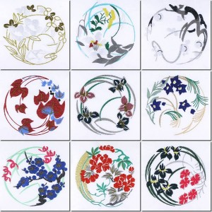BFC1001 Japanese Quilt Circles