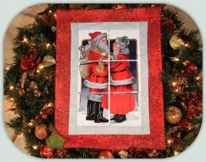 BFC1010 Window-Mr. and Mrs. Claus