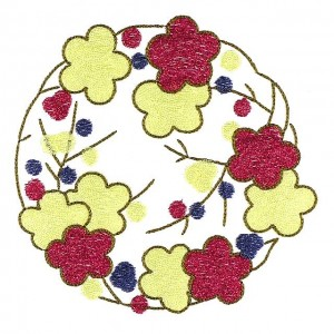 BFC30621 BFC1015 Japanese Quilt Circles III -06