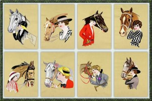 BFC1018 Equine Beauties