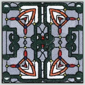 BFC30661 BFC1021 Stained Glass Tiles - 02