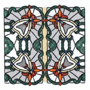 BFC30667 BFC1025 Stained Glass Tiles II - 04