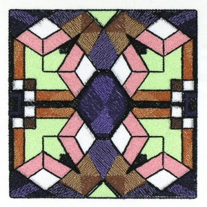 BFC30671 BFC1026 Stained Glass Tiles II - 04