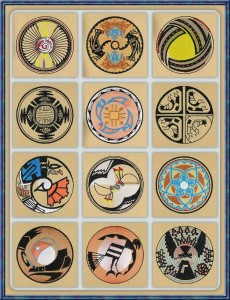BFC1050 Southwestern Quilt Circles