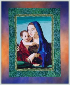 BFC1061 Window-Madonna and Child
