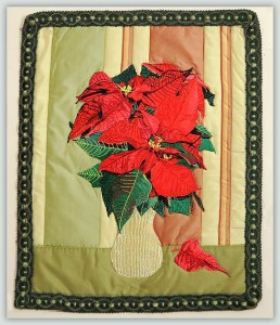 BFC1099 Large Poinsettia Bouquet
