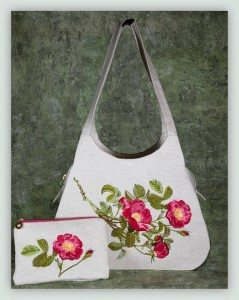 BFC1148 Wild Roses handbag Thread Kit