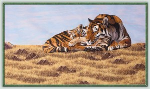 BFC1158 Large Mother Tiger and Cub