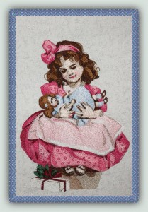 Tutorial: To make a Doll from an Embroidery Design