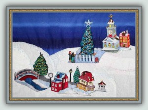 BFC1194 Christmas Village Series II Thread Kit