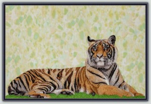 BFC1203 Large Reclining Tiger Thread Kit
