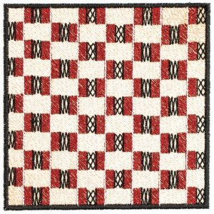 BFC1240 QIH- African Textile Squares