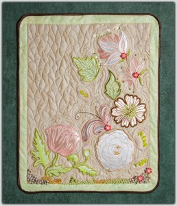 BFC1246 Applique Elements - Flowers and Leaves