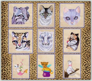 BFC1252 Ching Chou's Fanciful Cats Thread Kit