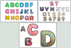 BFC1277 Alphabet Gone Crazy