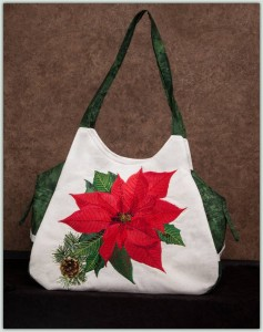 BFC1294 Poinsettia handbag Thread Kit