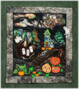 BFC1304 Haunted Applique