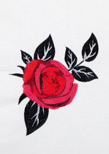 Red Roses - Black Scrolls 4