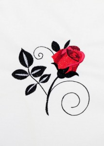 Red Roses - Black Scrolls 9