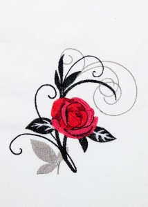 Red Roses - Black Scrolls 10