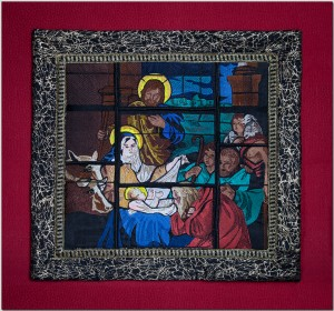 BFC1393 Stained Glass Nativity Thread Kit