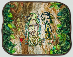 BFC1422 Sally King's Green Man Series - The Celt