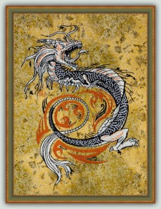BFC1442 Large Chinese Dragon