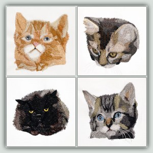BFC1460 Four Kitten Portraits