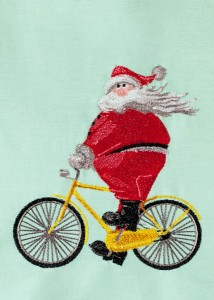 BFC30372 Santa on a Bike II
