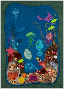 BFC1493 Art Quilt - Ocean Fantasy Thread Kit