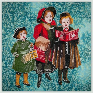 BFC1522 Large Christmas Carolers Thread Kit