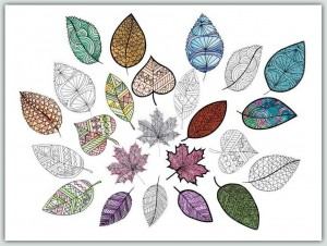 BFC1540 Lovely Leaves 3 Ways