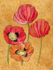BFC1549 Poppies Times Two