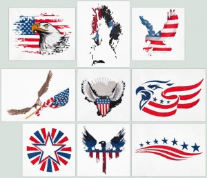BFC1566 US Patriotic Designs
