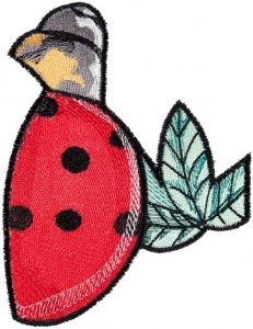 BFC1567 Ching Chou's Stained Glass Ladybug