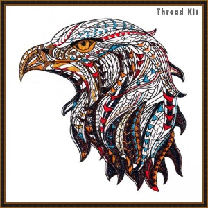 BFC 1576 Large Tribal Eagle Thread Kit