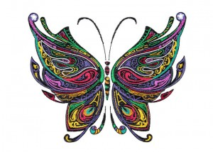 BFC1585 Large Decorative Butterfly
