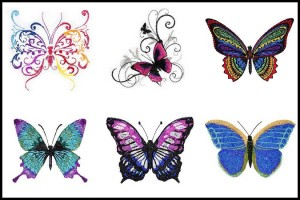 BFC1586 Decorative Butterflies