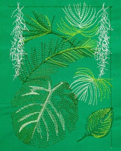 Jungle Leaves - 1