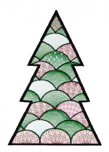 BFC1618 Patchwork Christmas Trees 02