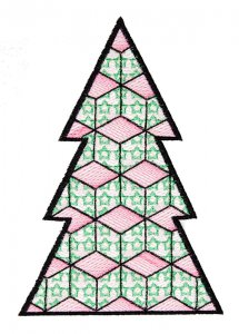 BFC1618 Patchwork Christmas Trees 05